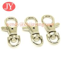 Quality jiayang 36mm  shiny silver trigger snap hook for key rings key chains for sale