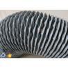 Buy cheap PVC Coated Glass Fibre Flexible Air Ducting 200MM Diameter 5 Meters 260℃ from wholesalers
