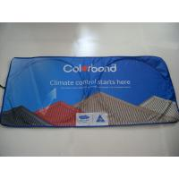 Buy Nylon Car Sunshades / Nylon Car Sun Shield /Sunshades with Colorful Printing at wholesale prices