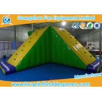 Quality Amusement Floating Inflatable Water Park Game Inflatable Water Slide Equipments for sale
