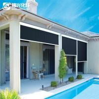 Quality 70% PVC 30% Polyester Blackout Vertical Window Blinds For Hotel Sunscreen Curtain for sale