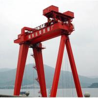 Quality Double Beam Gantry Crane  By Mobile Electric Trolley 90 T Cabin Or Remote Control for sale