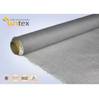 Quality Fire Retardant Blanket PU Coated Fiberglass Fabric 0.77mm Thermal Fabric For Curtains for sale