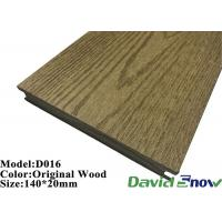 Quality Outdoor Swimming Pool ECO Wood WPC Composite Decking Flooring for sale