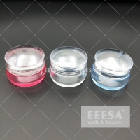 Quality Clear 3.5Cm With Stamping Plate Scraper Nail Polish Stamper Set for sale
