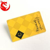Quality Gold Read Write Metal Wallet Card High Glossy Hot Stamping Or Magnetic Stripe for sale