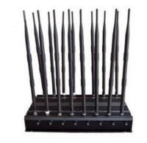 Quality 16 Antennas High Power Jammer CDMA GSM DCS PHS PCS 3G WCDMA 4G LTE for sale