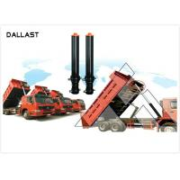 Quality RoHS Dump Trailer Hydraulic Cylinder , Welded Hydraulic Cylinders Plunge Long Stroke for sale