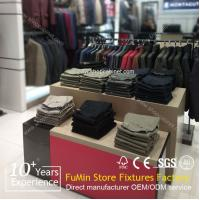 Quality Portable hot sale fashion design hanging clothes metal display racks/clothes metal display for sale