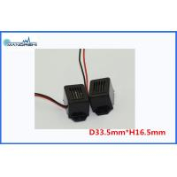 Quality 400Hz Black Mechanical Mini Tone Circui Buzzer With Wire Audio Signalling Device for sale