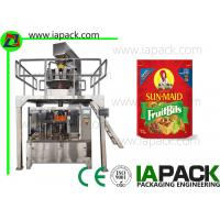 Quality Potato Chips Packing Machine Stand Up Pouch Zipper Filler Sealer for sale