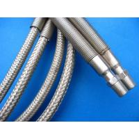 Quality Silver PTFE Teflon Tube , PTFE Teflon Pipe Wrapped Stainless Steel Wire for sale