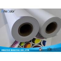 Quality Inkjet Matte PP Synthetic Paper , Poster Tear resistant Paper 8mil Thickness for sale