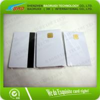 China contact smart ic card on sale