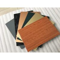 Quality Smooth Surface Facade Aluminium Composite PanelFor Wall Cladding Decoration for sale