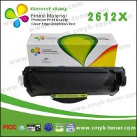 Quality Q2612X Black Toner Cartridge  Compatible HP Laserjet /  LG powder for sale