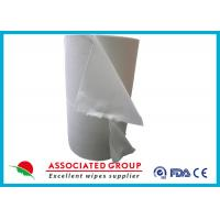 Buy cheap Spunlace Nonwoven Disposable Dry Washcloths 100 % Cotton No Pilling / Fuzzing from wholesalers