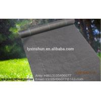 Quality consolidation project anti UV PP woven silt fence /ground cover fabric landscaping mats for sale