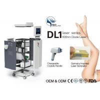 Quality High Speed Himalaya Medical 808nm Diode Laser Hair Removal Machine For Face for sale