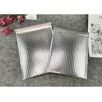 China Metallic Foil Silver Bubble Package Envelope Shock Resistance Custom Logo on sale
