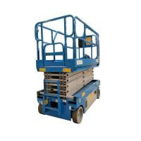 China Warehouse 8 Meter Compact Scissor Lift Smooth Control Accuracy Steady Fall on sale
