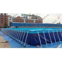 Quality Large Inflatable Swimming Pools Double Layers For Water Amusement Park for sale