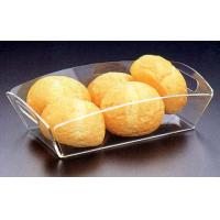 Quality acrylic food tray, acrylic stacking trays, food service tray for sale