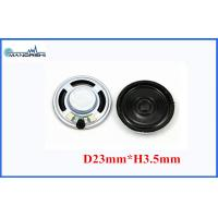 Quality 0.25w Or 0.5w Condenser Microphone Mini Mylar Speaker 8ohm For Portable Player for sale