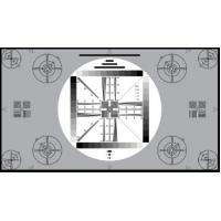 Quality 3nh TE117 A REFLECTANCE HDTV cameras UNIVERSAL TEST CHART 16:9 for testing 4:3 cameras for sale
