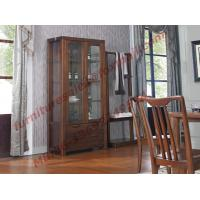 Quality Solid wooden with Glass Door Sideboards for Wine Cabinet in Dining Room Furniture for sale