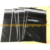 Buy Shipping Plastic Bags For Clothes 29 Cmx 40cm Self Adhesive Black Color at wholesale prices