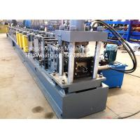 Buy cheap Automatic Storehouse Sheet Metal Rack Roll Forming Machines 7.5kw Power from wholesalers