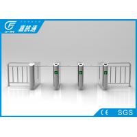 Quality Mechanica One Way Drop Arm Turnstile Self - Examine And Alarm Anti - Pinch Function for sale