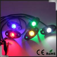 Quality RGB Bluetooth Control Led Rock Light , IP68 Jeep Off Road Rock Lights for sale