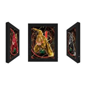 Quality Outdoor LED 3D Lenticular Light Box,Led Lenticular Light Box With Marvel Movie Character Design for sale