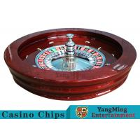 """Buy cheap Luxury Casino Gaming Standard Solid Wood 32""""Roulette Wheel Dedicated For from wholesalers"""