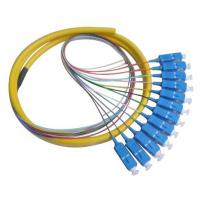 Quality Round Type 12 Core SC/UPC Fiber Optic Pigtail for sale