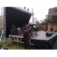 Buy Mobile Heavy Loading Outdoor Stage Platform Adjustable Height 1.22*1.22m Assembling at wholesale prices