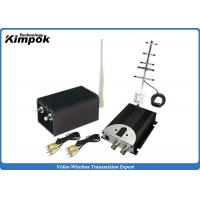 Quality High Integrated CCTV Analog Video Wireless Transmitter With 5000mW Output Power , AV Interface for sale