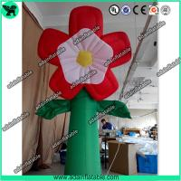 Quality Summer Event Decoration Inflatable,Club Decoration Inflatable  Red Flower for sale
