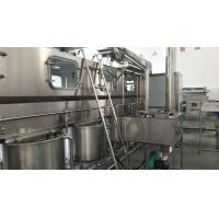 Quality High Speed 5 Gallon Drinking Water Filling Machine , Automatic Pure Water Production Line for sale