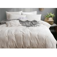 Quality Real Simple Washed Twin Size Bedding Sets Soft 4 Pcs 100% Cotton Sample Available for sale