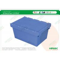Quality Folding Plastic Boxes Heavy Duty Nestable Crates for sale