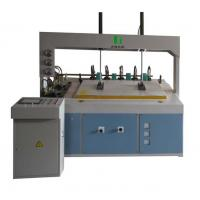 Quality RF Press Edge Gluer of Slant Working Table Version for sale