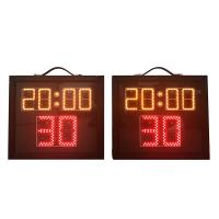 Indoor Aluminum Basketball Shot Clock , Multi Sport Scoreboard With Game Time