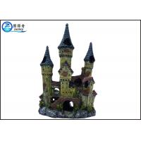 Quality Castle Villa Aquarium Fish Tank Ornaments And Decorative Landscaping for sale