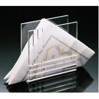 Quality High Quality Fashion Shape Acrylic Serving Paper Tray for sale