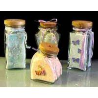 China bath salt in bottles on sale