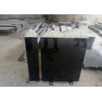 Quality European Style Granite Memorial Headstones Black Galaxy / Other Color for sale