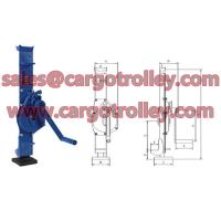 Quality Mechanical jack price list with pictures for sale